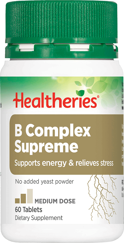 Healtheries B-Complex Supreme Supplement 60 Tabletts