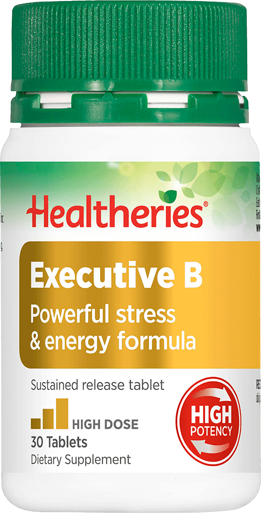 Healtheries Executive B Stress 30 Tablets