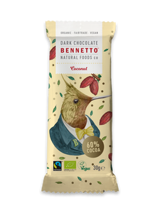 Bennetto Cocolate Mini Bar Coconut 30g