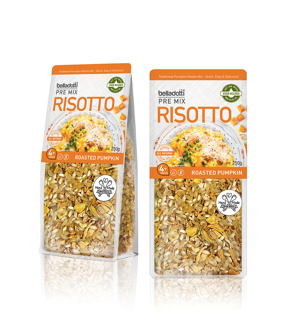 Belladotti Roasted Pumpkin Risotto Pre Mix 250g
