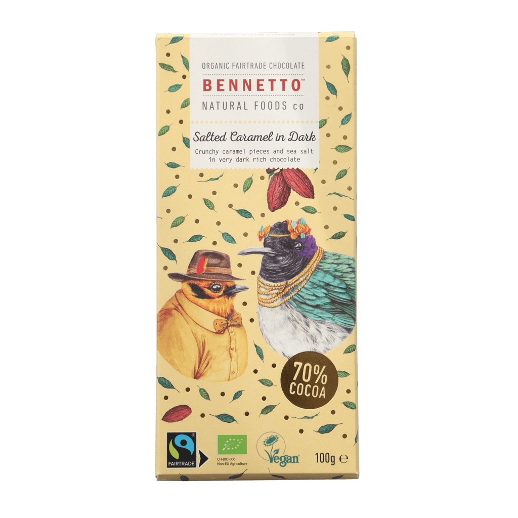 Bennetto Chocolate Salted Caramel 100g
