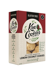 Gluten Free Kea Cookies Lemon Coconut