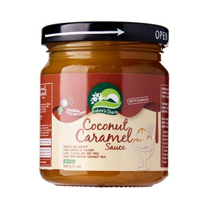 Nature's Charm Coconut Caramel Sauce 200g