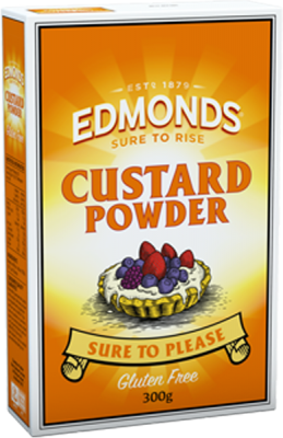 Edmonds Custard Powder 300g gluten free