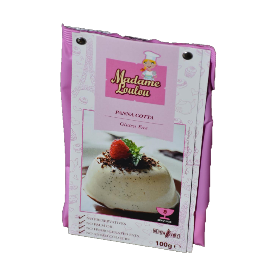 Panna Cotta Dessert Making Mix 100g