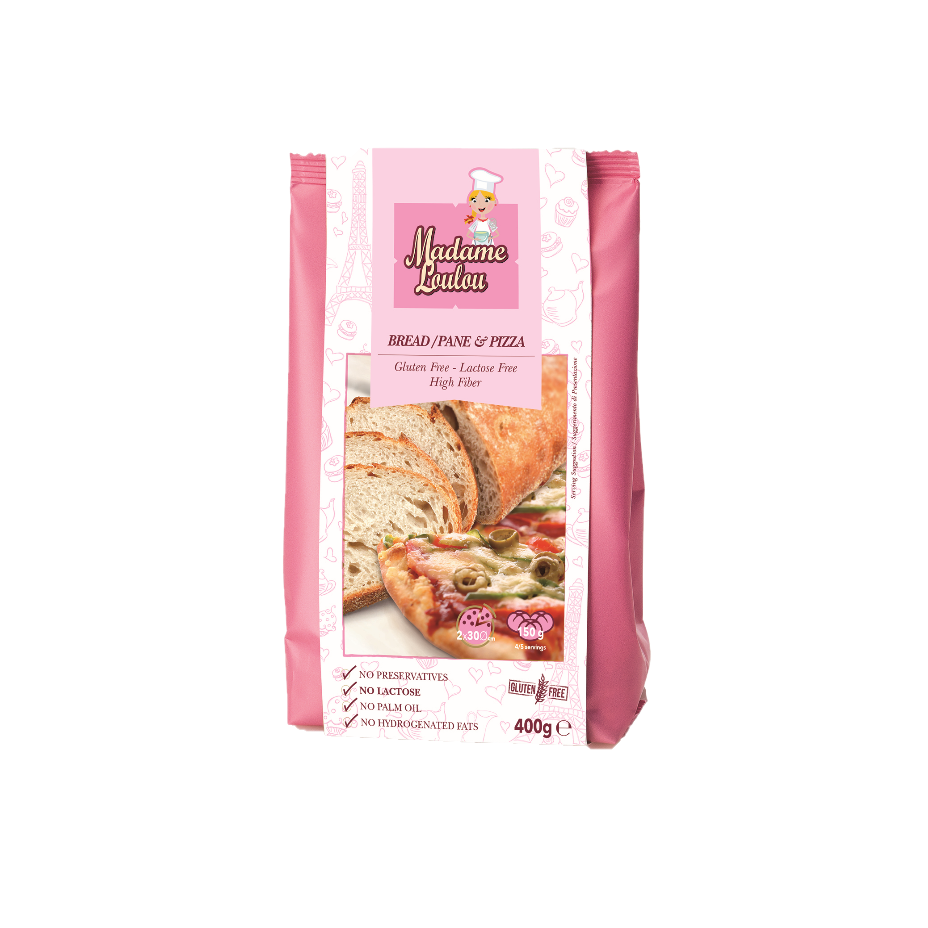 Gluten Free Bread and Pizza Mix Madame Loulou