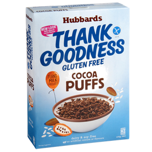 Hubbards Thank Goodness Gluten free Cocoa Puffs 400g