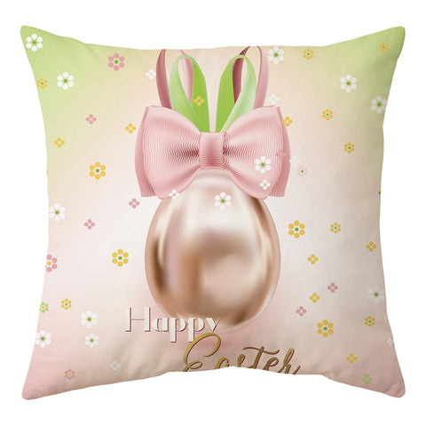 Housse Coussin Lapin Oeuf