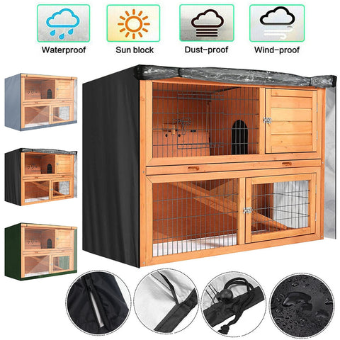 housse protection cage lapin