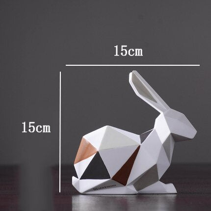 Statue Moderne Lapin