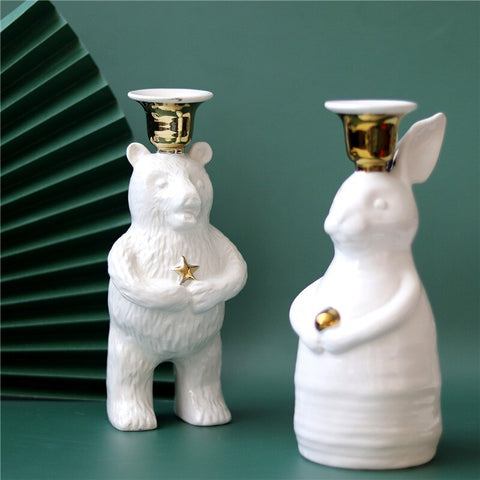 Lapin Blanc Sculpture