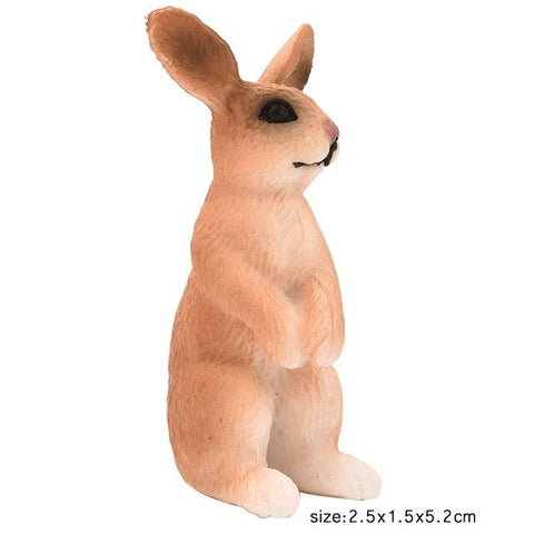 X Figurine Lapin Debout