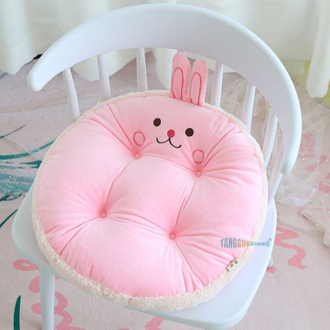 Coussin Rose Lapin