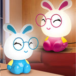 Veilleuse Led Lapin Lunette