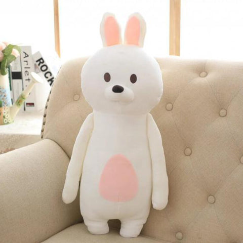 Coussin Lapin Blanc 60 CM