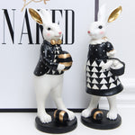 X Figurine Lapin Homme