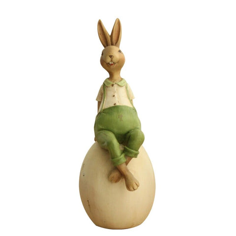 Figurine Lapin Assis