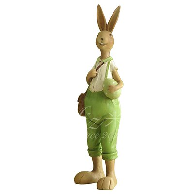 Figurine Lapin Homme