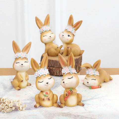 Lot Figurines Lapin