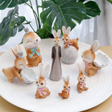 Figurine Lapine Coquille Oeuf