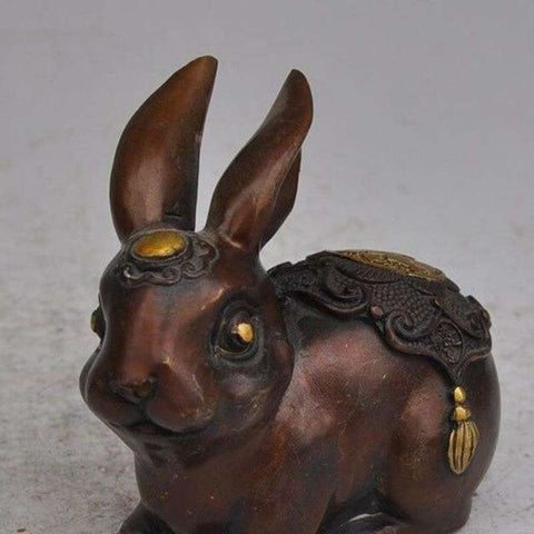 sculpture lapin asiatique