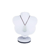 Porte collier buste support blanc