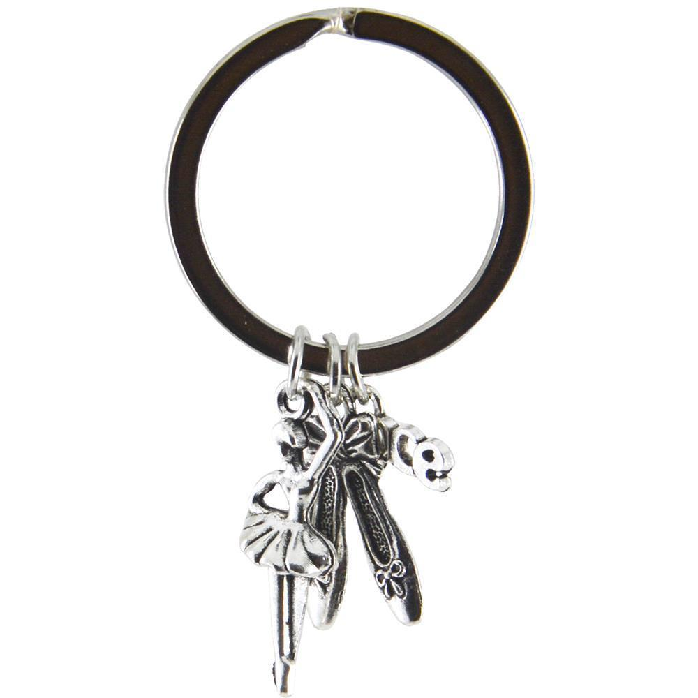 Keyring Ballet Charms