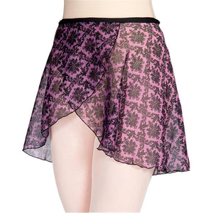 Wrap Skirt Victorian Print Adult