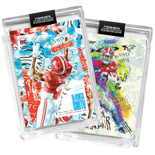 Load image into Gallery viewer, 💀 🏈 2 PACK BUNDLE - DEVONTA SMITH X TYSON BECK - RC - SLIM REAPER + THE CATCH - LIMITED TO 500