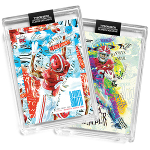 💀 🏈 2 PACK BUNDLE - DEVONTA SMITH X TYSON BECK - RC - SLIM REAPER + THE CATCH - LIMITED TO 500