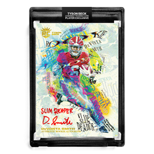 "Load image into Gallery viewer, 💀 DEVONTA SMITH X TYSON BECK - SLIM REAPER - RC AUTOGRAPH - ""SLIM REAPER"" INSCRIPTION - LIMITED TO 10"