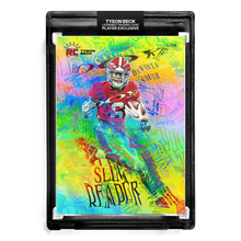 Load image into Gallery viewer, 🌈 💀 DEVONTA SMITH X TYSON BECK - RC - SLIM REAPER - RAINBOW FOIL - LIMITED TO 50
