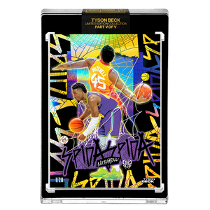 PART V OF V - OFFICIAL DONOVAN MITCHELL X TYSON BECK - 🌈 RAINBOW AP VARIATION - LIMITED TO 20