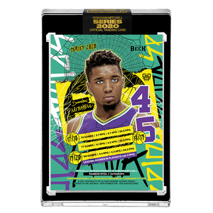 PART V OF V - OFFICIAL DONOVAN MITCHELL 🌈 RAINBOW SPIDA – SILVER AUTOGRAPHED CARD - LIMITED TO 15