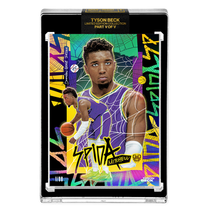PART V OF V - OFFICIAL DONOVAN MITCHELL X TYSON BECK - 🌈 RAINBOW SPIDA - LIMITED TO 99