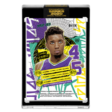 Load image into Gallery viewer, PART V OF V - OFFICIAL DONOVAN MITCHELL RETRO BASE – BLACK AUTOGRAPHED CARD - LIMITED TO 29