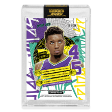 Load image into Gallery viewer, PART V OF V - OFFICIAL DONOVAN MITCHELL X TYSON BECK - RETRO BASE CARD - LIMITED TO 750