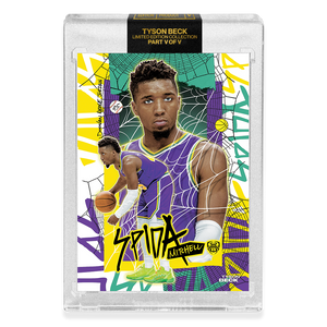 2 PACK BUNDLE - PART V OF V - OFFICIAL DONOVAN MITCHELL X TYSON BECK - RETRO + SUNSET BASE CARD - LIMITED TO 750