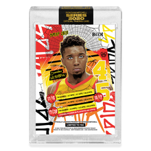 Load image into Gallery viewer, 2 PACK BUNDLE - PART V OF V - OFFICIAL DONOVAN MITCHELL X TYSON BECK - RETRO + SUNSET BASE CARD - LIMITED TO 750