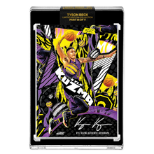 Load image into Gallery viewer, PART III OF V - OFFICIAL KYLE KUZMA X TYSON BECK - AP VARIATION AUTOGRAPHED CARD - LIMITED TO 15