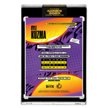Load image into Gallery viewer, PART III OF V - OFFICIAL KYLE KUZMA X TYSON BECK - DUAL AUTOGRAPHED NEON UV HAND EMBELLISHED CARD - LIMITED TO 2
