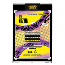 Load image into Gallery viewer, PART III OF V - OFFICIAL KYLE KUZMA X TYSON BECK - METALLIC YELLOW PARALLEL - LIMITED TO 149