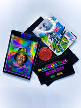 Load image into Gallery viewer, 🌈 RAINBOW FOIL - Tony Gwynn by Tyson Beck - RAINBOW PINK - LIMITED TO 1 🌈