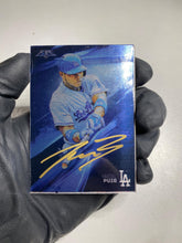 Load image into Gallery viewer, Yasiel Puig - 1/1 TYSON BECK X TOPPS AUTOGRAPHED 2015 FIRE METAL CARD 🔥