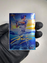Load image into Gallery viewer, Corey Seager - 1/1 TYSON BECK X TOPPS AUTOGRAPHED 2015 FIRE METAL CARD 🔥