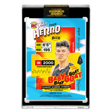 Load image into Gallery viewer, PART IV OF V - OFFICIAL TYLER HERRO X TYSON BECK RC AP VARIATION - ARTIST GOLD AUTOGRAPHED CARD - LIMITED TO 20