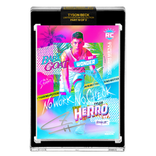 Load image into Gallery viewer, PART IV OF V - OFFICIAL TYLER HERRO RC VICE RAINBOW FOIL - SILVER AUTOGRAPHED CARD - LIMITED TO 15