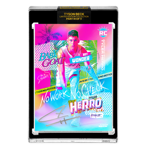 PART IV OF V - OFFICIAL TYLER HERRO RC VICE RAINBOW FOIL - SILVER AUTOGRAPHED CARD - LIMITED TO 15