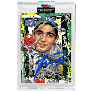 Sandy Koufax by Tyson Beck - DODGER BLUE AUTOGRAPH - LIMITED TO 250