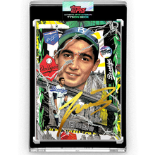 Load image into Gallery viewer, Sandy Koufax by Tyson Beck - GOLD AUTOGRAPH - LIMITED TO 5 + Topps Collector Card